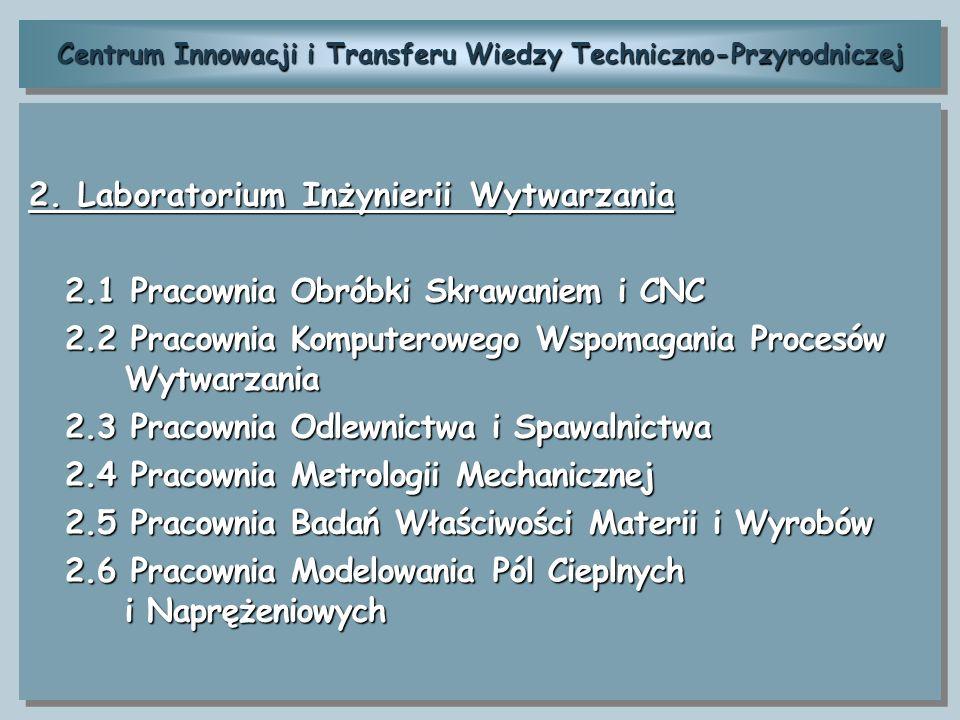 Centrum Innowacji i Transferu Wiedzy Techniczno-Przyrodniczej 3.