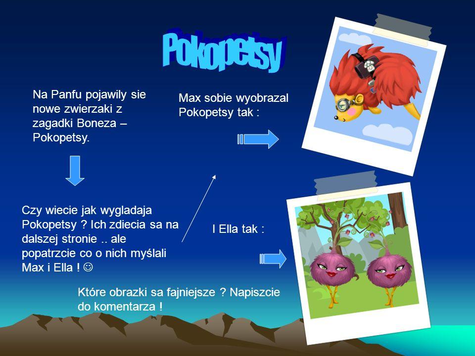 Na Panfu pojawily sie nowe zwierzaki z zagadki Boneza – Pokopetsy.
