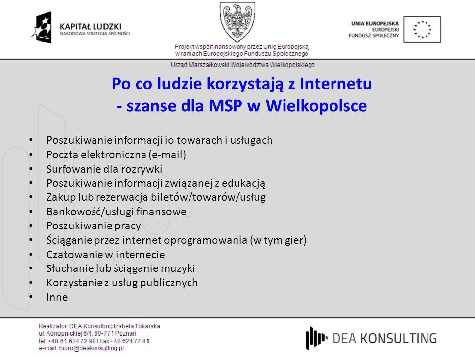 Cyfrowi imigranci i cyfrowi tubylcy (4) W polskich domach jest 6 mln komputerów PC Przyczyny niskiej penetracji internetu: 1.