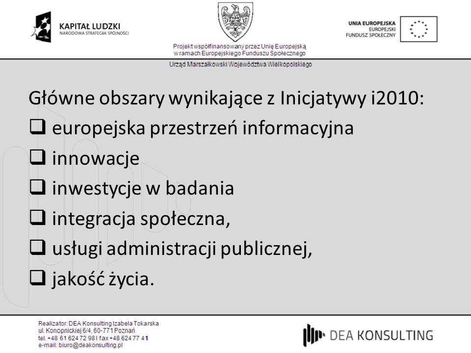 Europejska przestrzeń informacyjna Współpraca w tym zakresie na poziomie regionów np: Wielkopolska – Brandenburgia