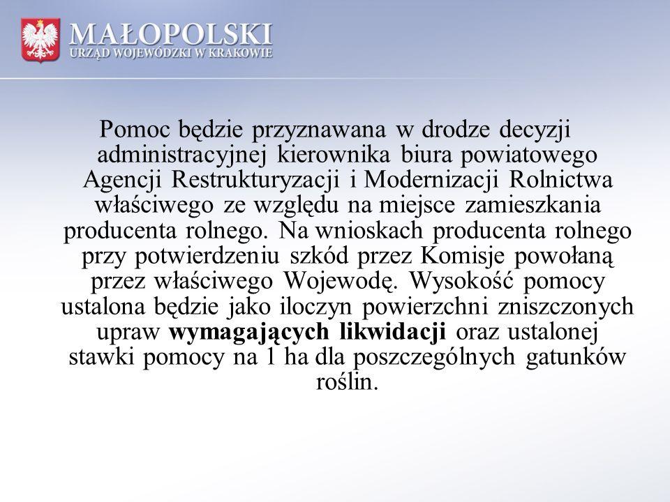 Wykaz spółek, którym przydzielono dotację ogłasza się w Obwieszczeniu Wojewody Małopolskiego publikowanym w Dzienniku Urzędowym Województwa Małopolskiego.
