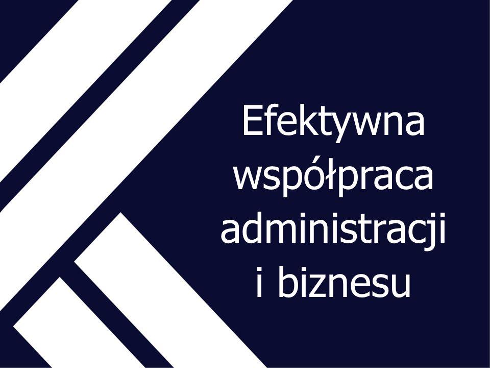 Efektywna współpraca administracji i biznesu