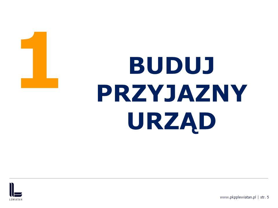 1 BUDUJ PRZYJAZNY URZĄD www.pkpplewiatan.pl | str. 5
