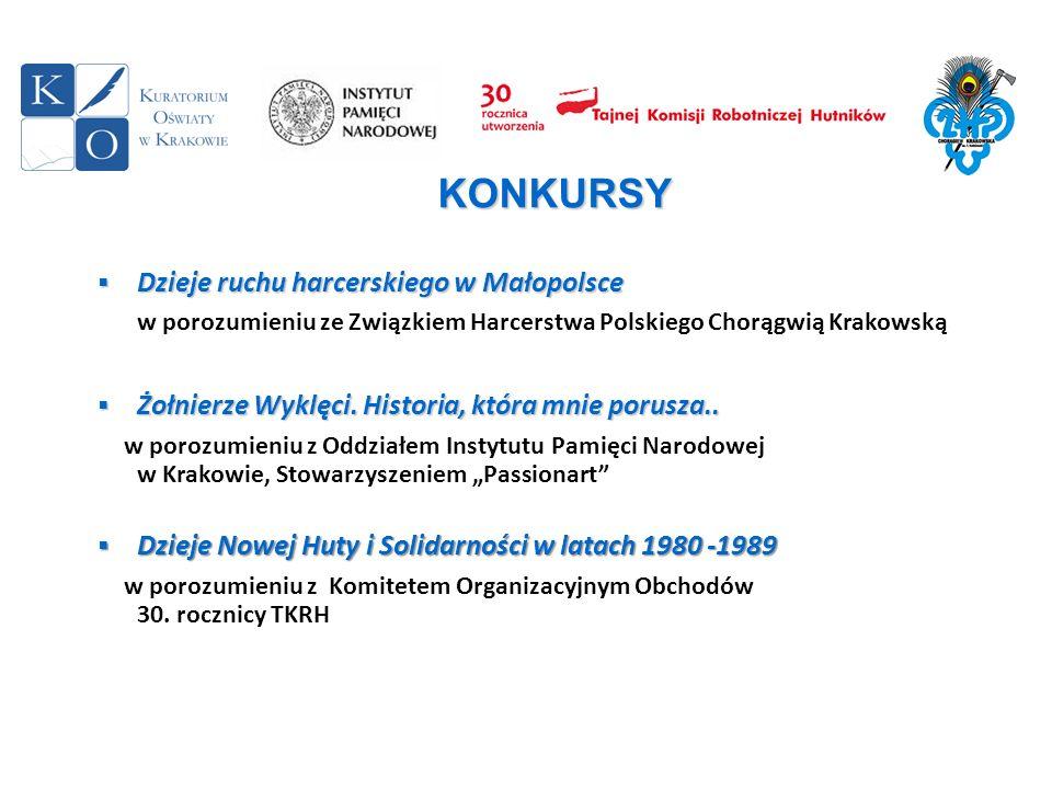 Dzieje ruchu harcerskiego w Małopolsce Dzieje ruchu harcerskiego w Małopolsce w porozumieniu ze Związkiem Harcerstwa Polskiego Chorągwią Krakowską Żoł
