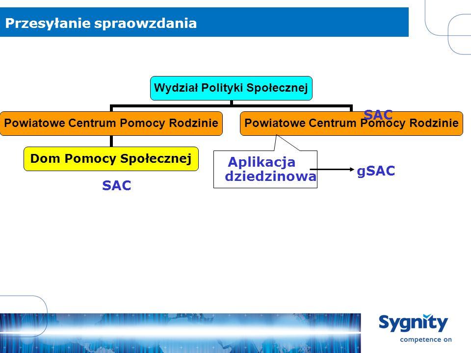 Konfiguracja gSAC-a