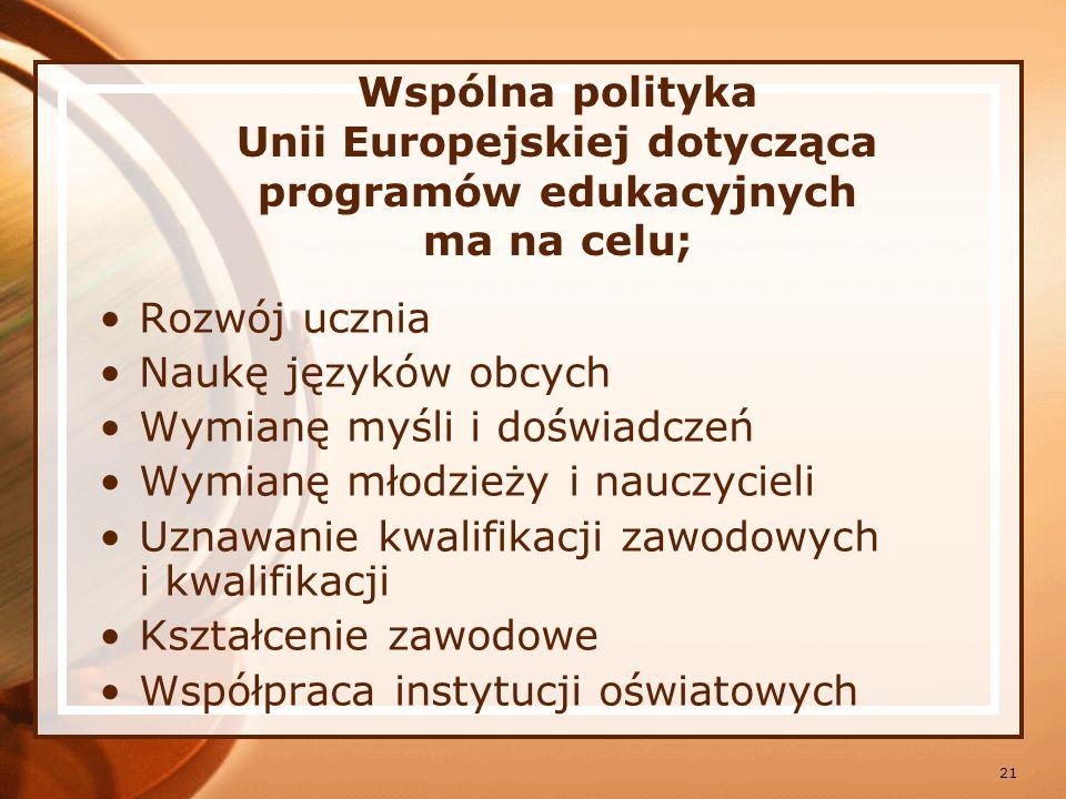 22 Kraje Unii Europejskiej dążą do ujednolicenia i udokumentowania poziomu wiadomości z zakresu technik informatycznych.