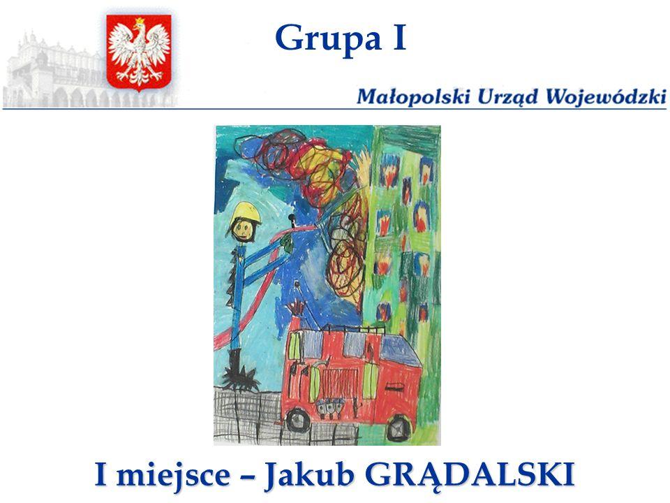 Grupa I I miejsce – Jakub GRĄDALSKI