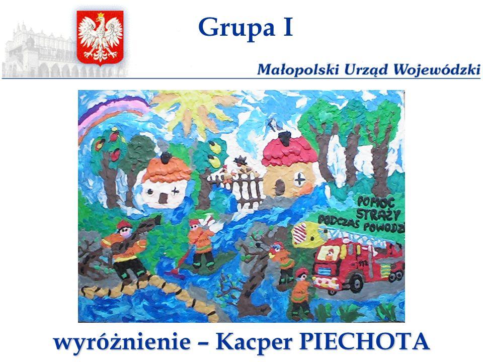 Grupa I wyróżnienie – Kacper PIECHOTA