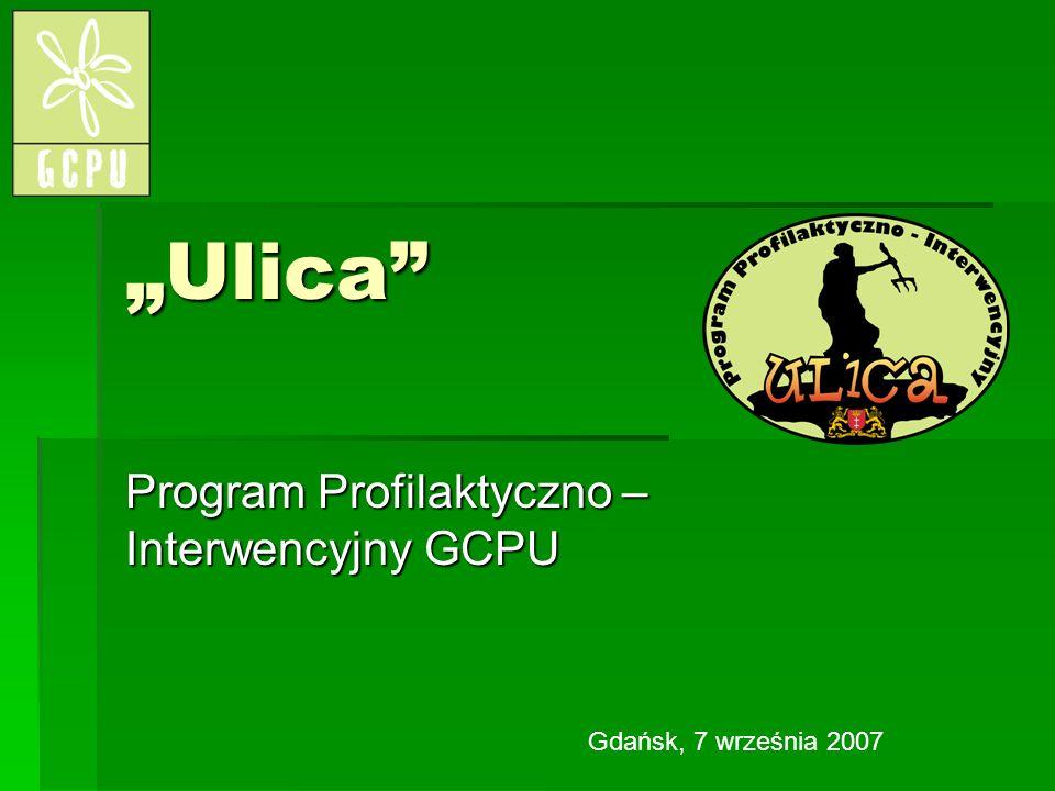 Ulica Program Profilaktyczno – Interwencyjny GCPU Gdańsk, 7 września 2007