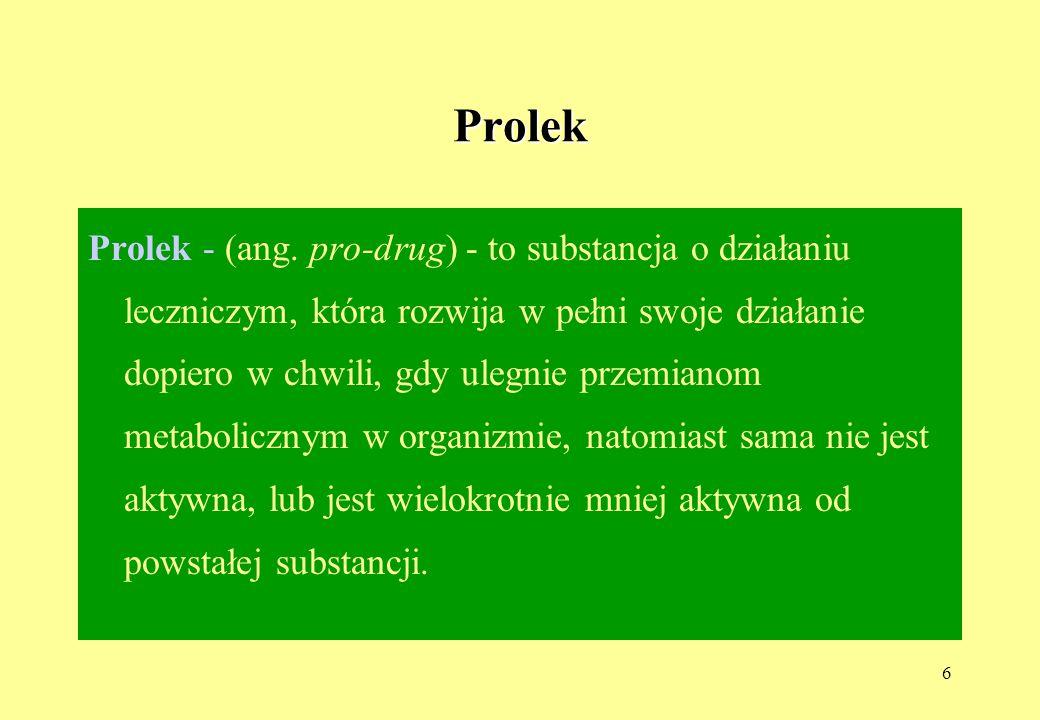 27 Leki moczopędne -pochodne chinazoliny i indoliny c.d.