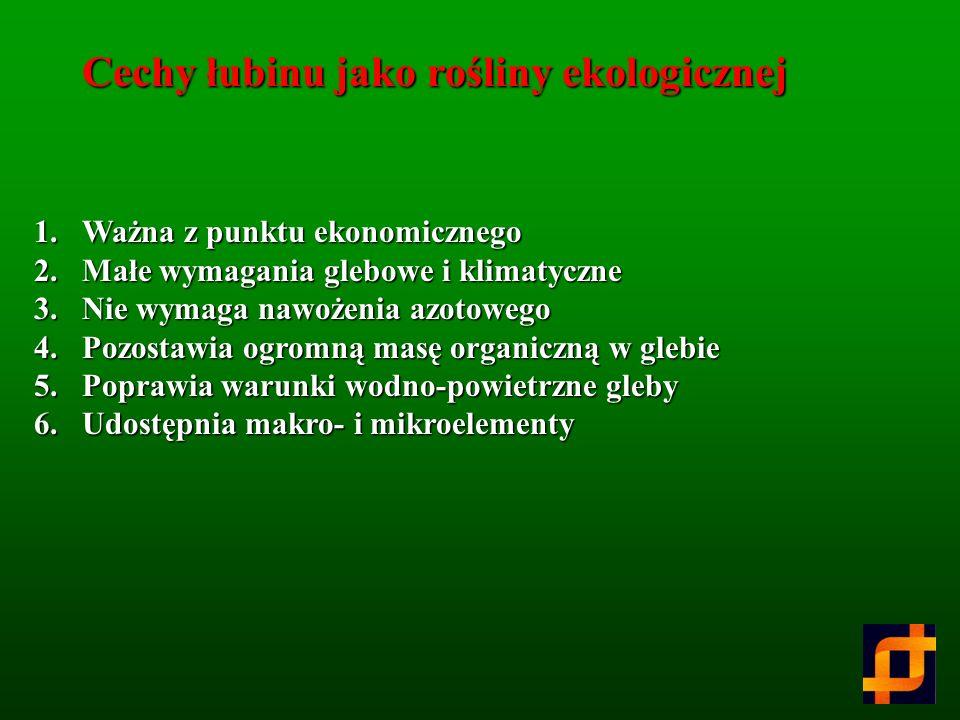 Substancje biologicznie czynne z łubinu Krzysztof Gulewicz Instytut Chemii Bioorganicznej PAN, Poznań