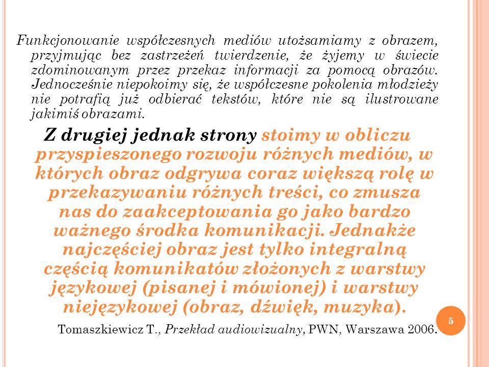 MODEL PROCESU ROZUMIENIA OBRAZU (S.SZUMAN): S.