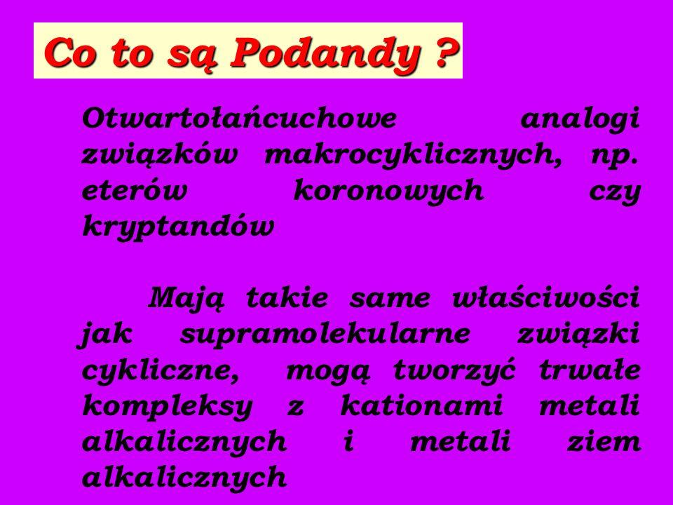PODANDY -CH 2 CH 2 X-