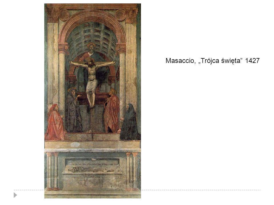 Masaccio, Trójca święta 1427