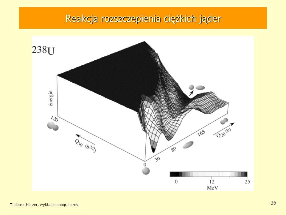 Tadeusz Hilczer, wykład monograficzny 36 Reakcja rozszczepienia ciężkich jąder