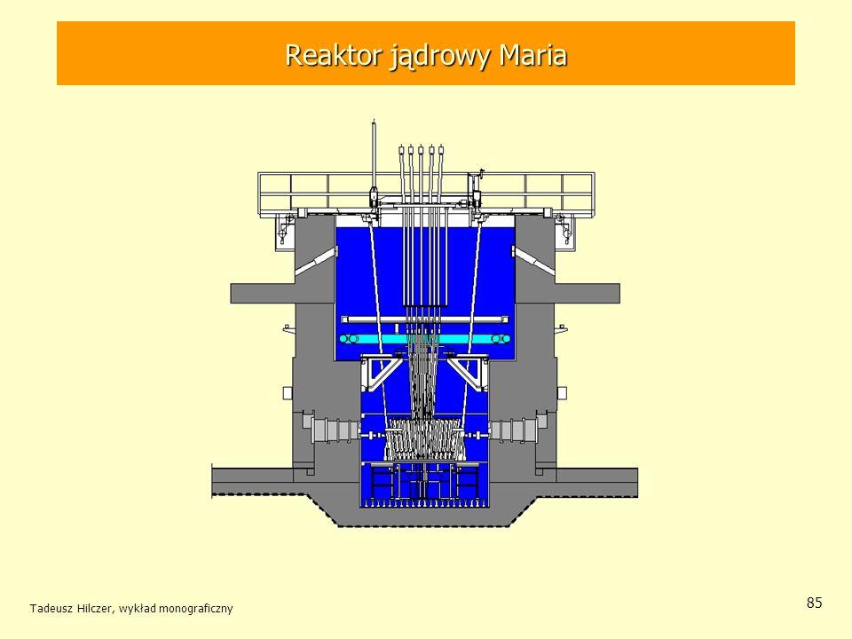 Tadeusz Hilczer, wykład monograficzny 85 Reaktor jądrowy Maria