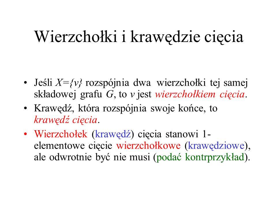 Tw.Mengera (1927) Tw 3. Niech A,B będą dowolnymi podzbiorami V(G).