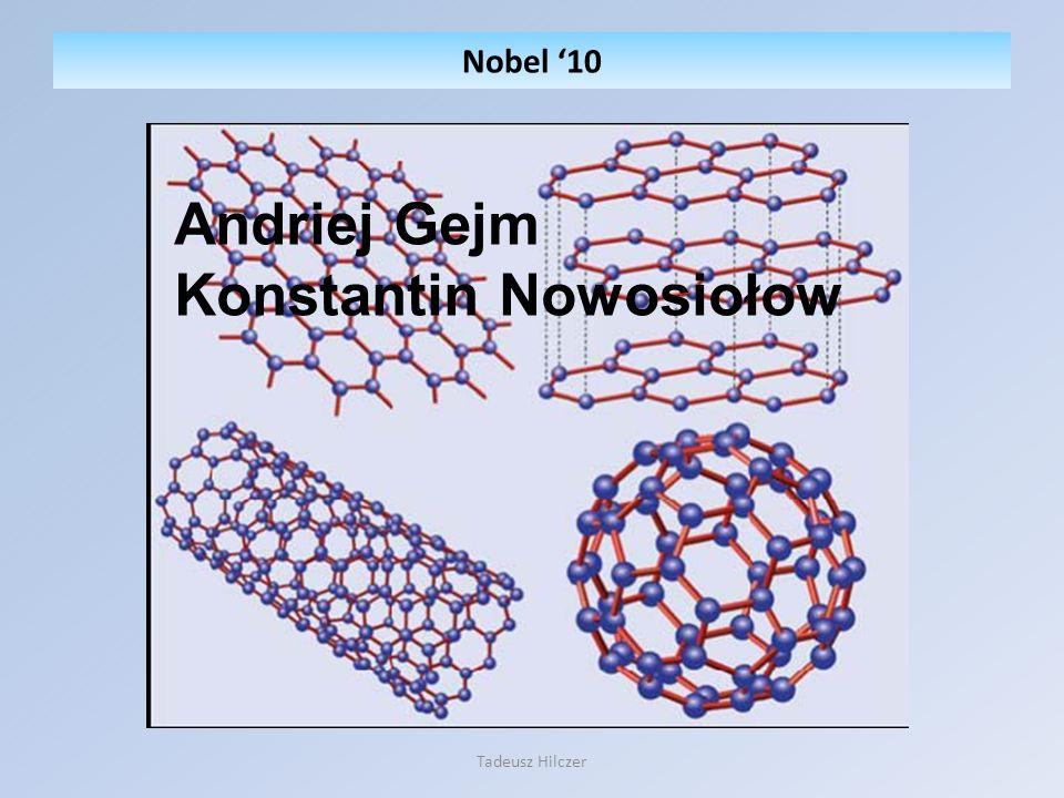 Nobel 10 Tadeusz Hilczer Andriej Gejm Konstantin Nowosiołow