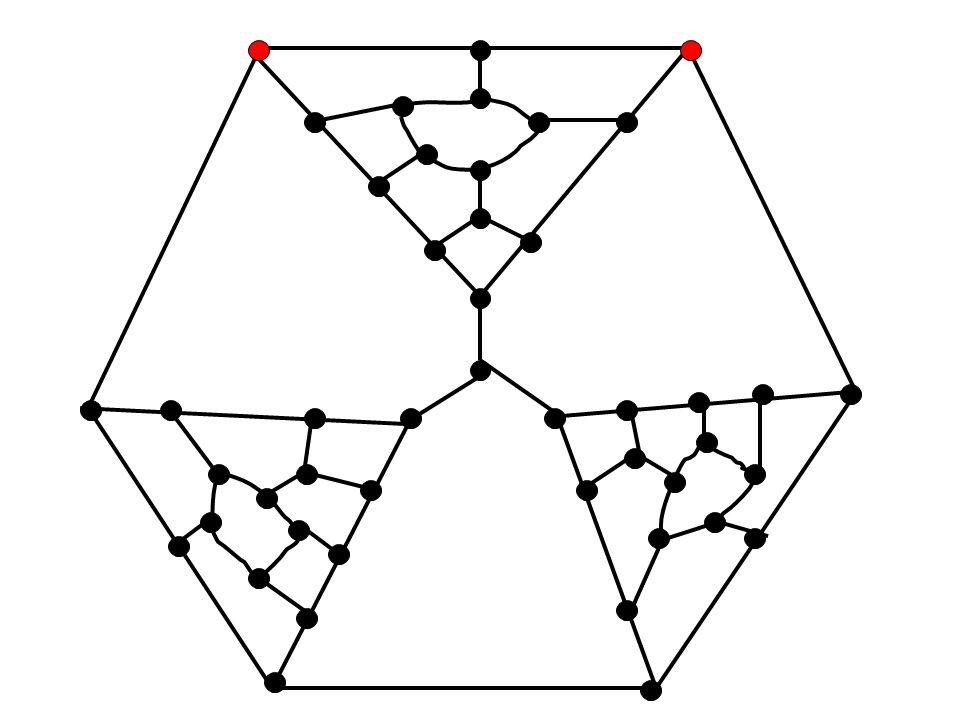 Druga próba Taita 1880 Mapę hamiltonwską można pomalować 4 kolorami (ćw). 3-regularny graf hamiltonowski ma indeks chromat. 3. Hipoteza Taita (1890).