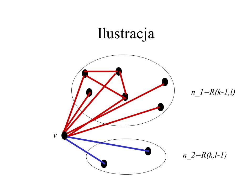 Ilustracja v n_1=R(k-1,l) n_2=R(k,l-1)
