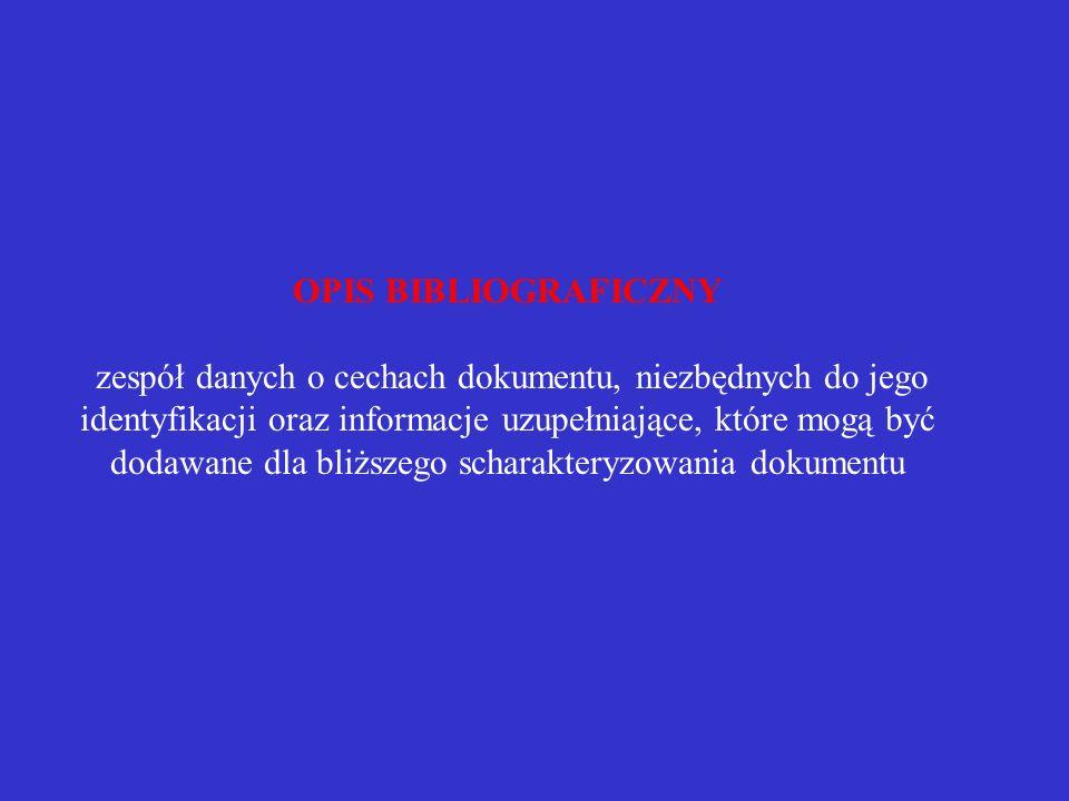 Etapy powstawania bibliografii załącznikowej i przypisów bibliograficznych 1. Ogólne zasady sporządzania bibliografii i przypisów 2. Poszczególne elem