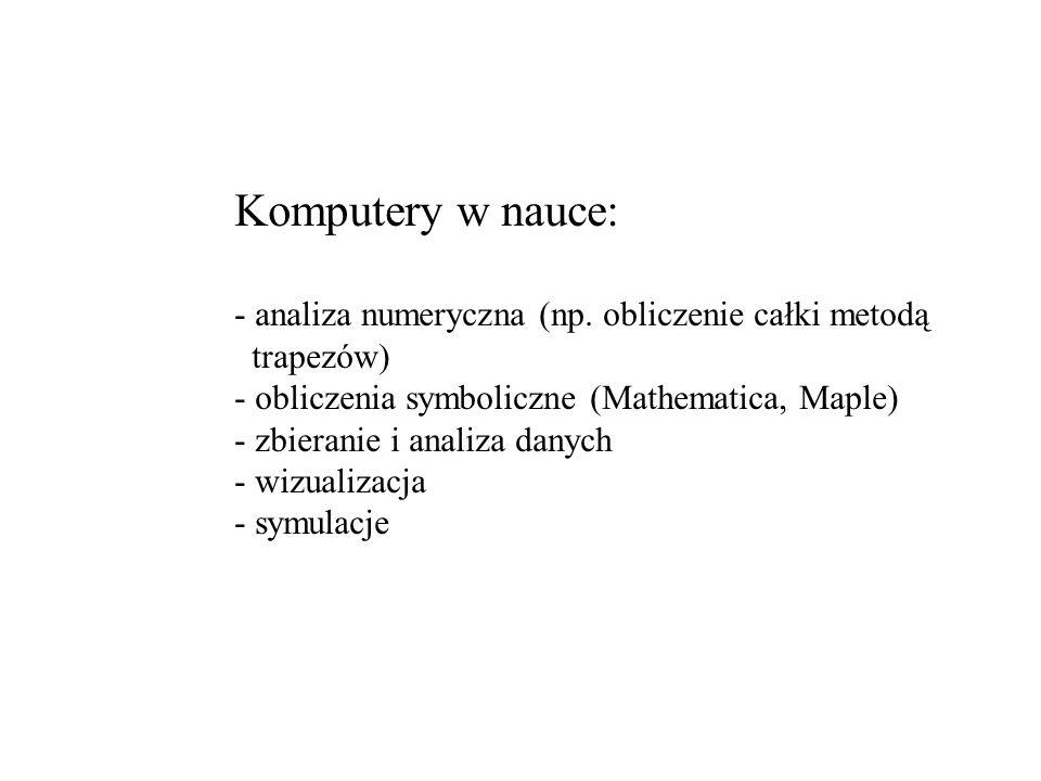 Symulacje: Problem jest dobrze sformułowany (znane są np.
