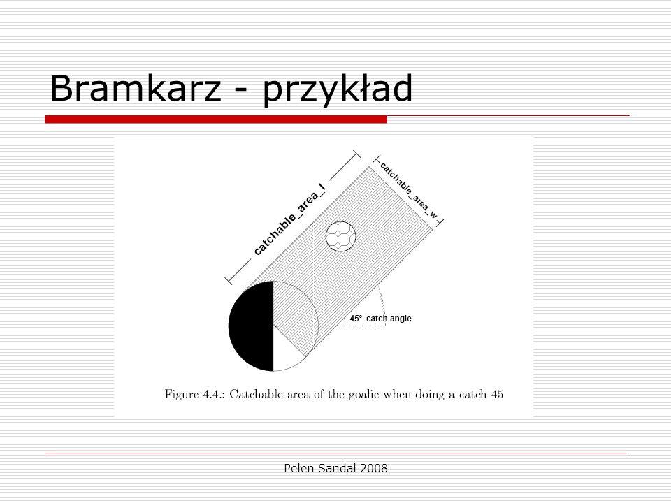Pełen Sandał 2008 Bramkarz - przykład