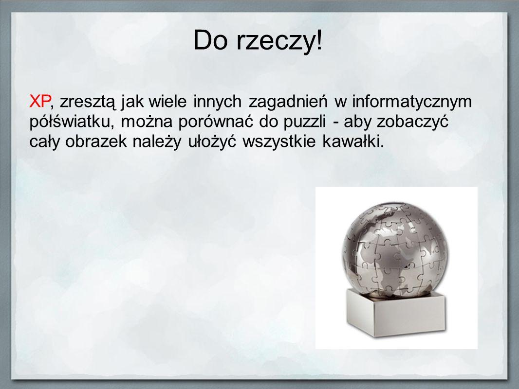 Szacunek Szacunek jest ogromnie ważną sprawą w pracy zespołu.