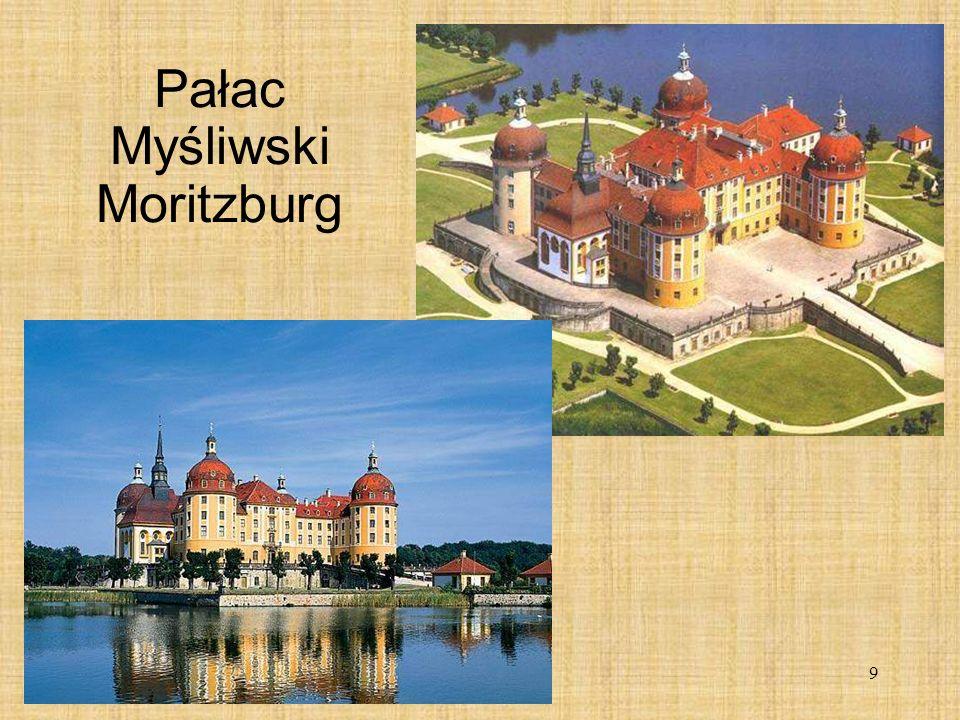 9 Pałac Myśliwski Moritzburg