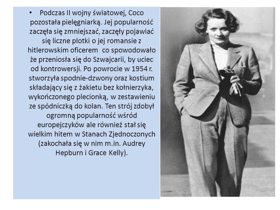 Podczas II wojny światowej, Coco pozostała pielęgniarką. Jej popularność zaczęła się zmniejszać, zaczęły pojawiać się liczne plotki o jej romansie z h
