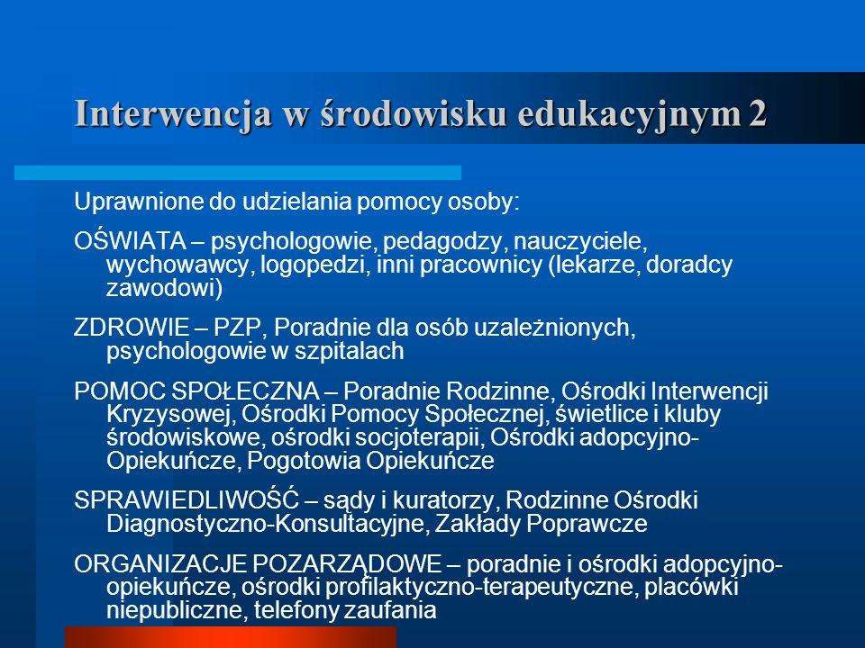 Regulacje prawne Ustawa z 7 września 1991 r.o systemie oświaty (Dz.