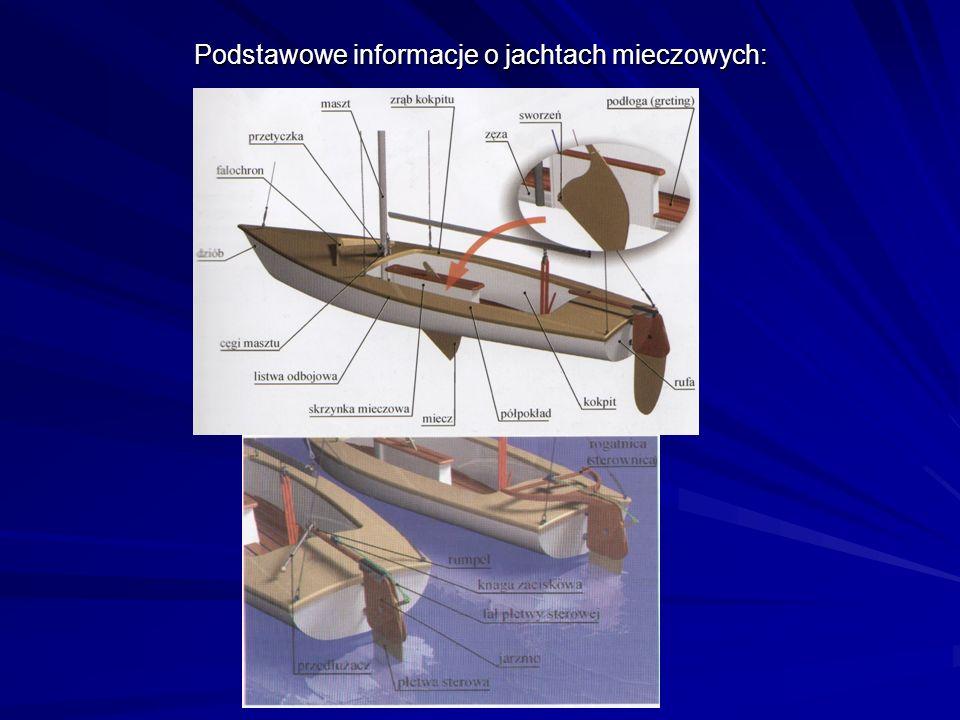 Podstawowe informacje o jachtach mieczowych: