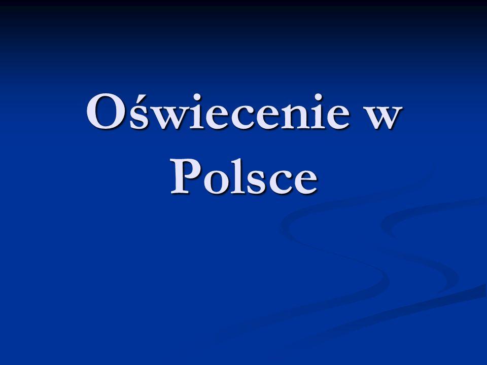 Oświecenie w Polsce