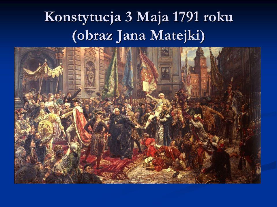 Konstytucja 3 Maja 1791 roku (obraz Jana Matejki)