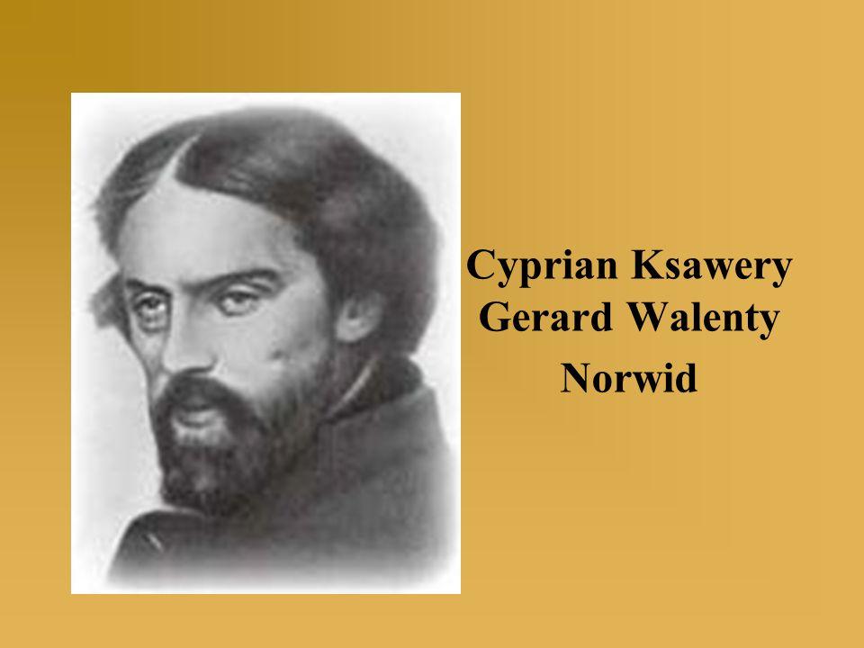 Cyprian Norwid urodzony 24 września 1821r.