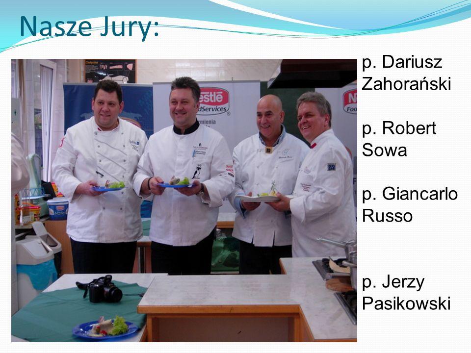 Nasze Jury: p. Dariusz Zahorański p. Robert Sowa p. Giancarlo Russo p. Jerzy Pasikowski