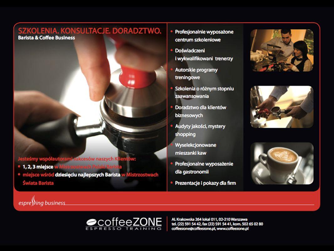 Espresso Espresso jest metodą parzenia kawy, podczas której niewielka ilość wody przeciskana jest przez powierzchnię odpowiednio zmielonej i ubitej kawy (coffee cake) dając w efekcie skoncentrowany napar.