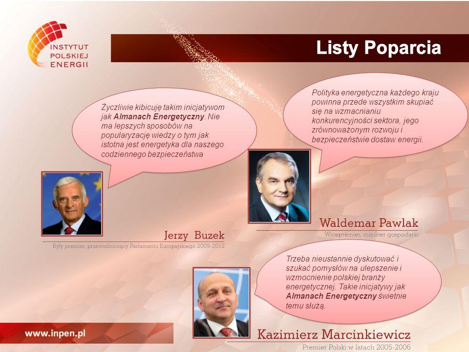 www.inpen.pl Życzliwie kibicuję takim inicjatywom jak Almanach Energetyczny.