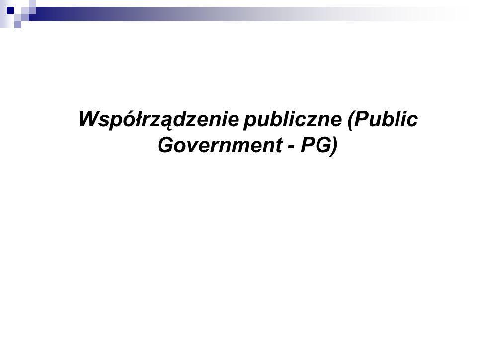 Współrządzenie publiczne (Public Government - PG)