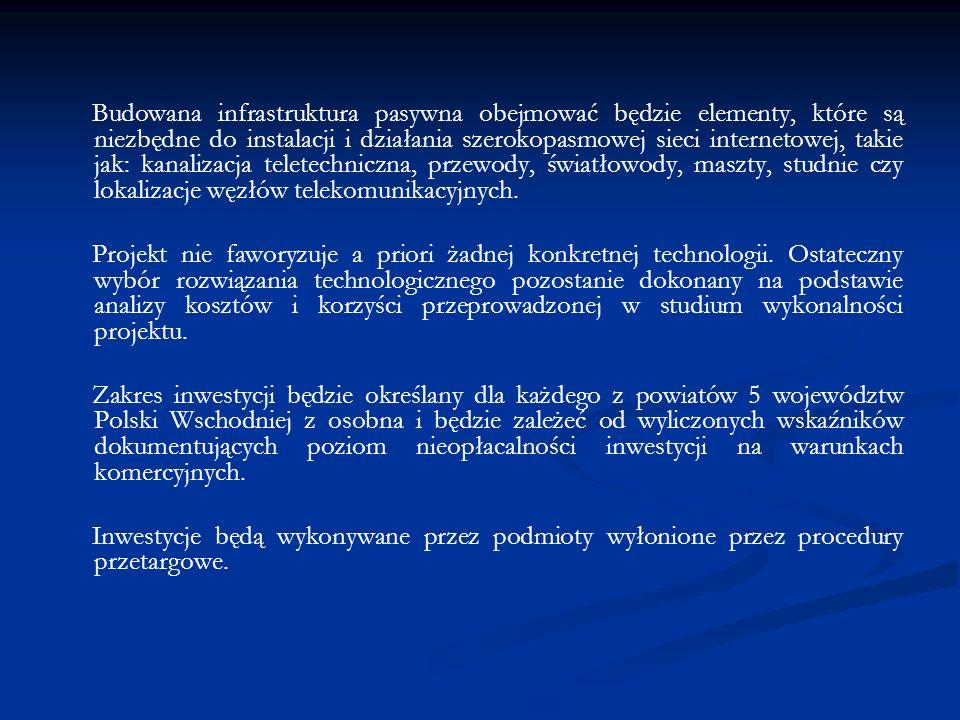 Beneficjenci: – jednostki samorządu terytorialnego, – związki i stowarzyszenia jednostek samorządu terytorialnego, – przedsiębiorcy, – organizacje pozarządowe.