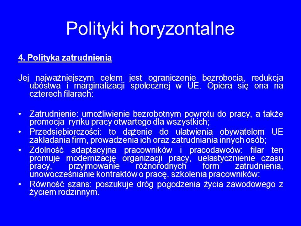 Polityki horyzontalne 4.