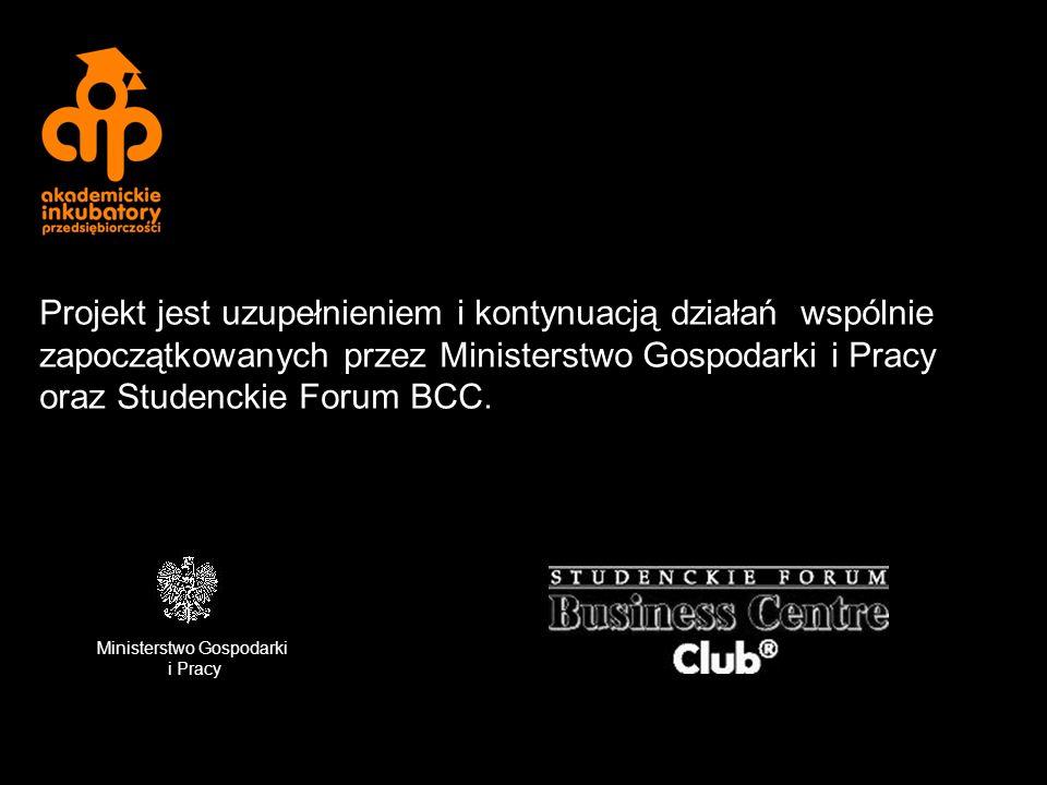 Kontakt: Tomasz Stypułkowski Dyrektor Akademickiego Inkubatora Przedsiębiorczości w Białymstoku Członek Zarządu Podlaskiego SF BCC tel.