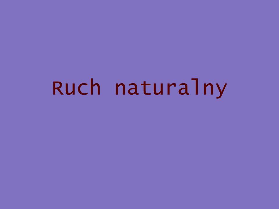 Ruch naturalny