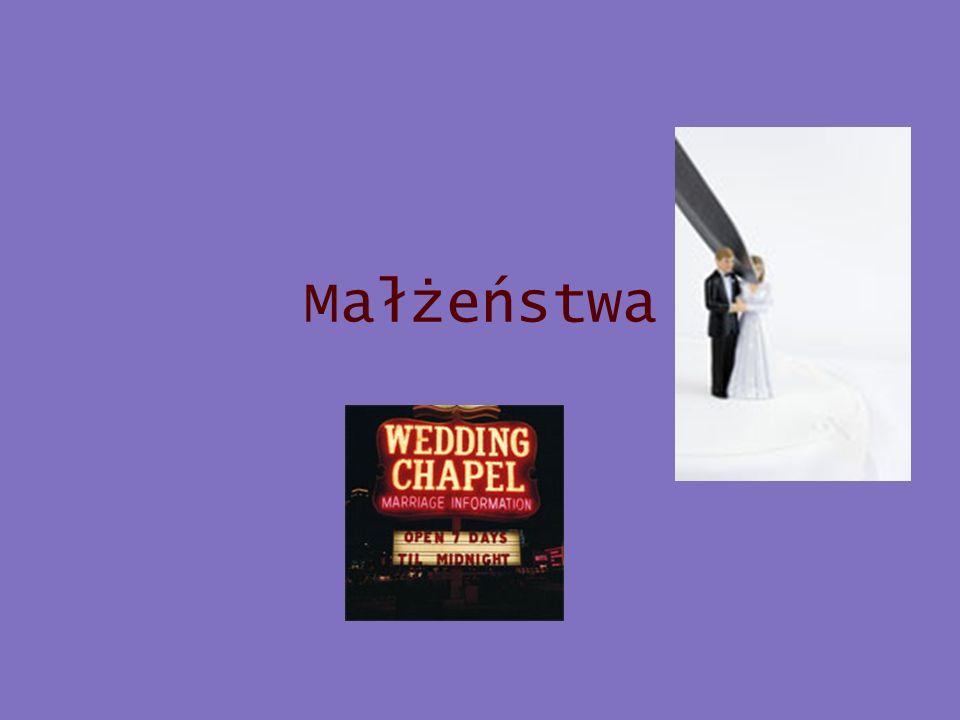 Wskaźniki demograficzne – małżeństwa (1) Związki partnerskie: –Liczba zawieranych małżeństw Pierwszych czy kolejnych.