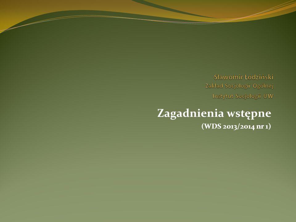 Przykład analizy socjologicznej: stosunek Polaków wobec innych narodów w latach 1993-2013 (cdn.) Próby wyjaśnienia (III) – różnicowanie postaw wobec innych narodów ( trwałość i zmienność postaw etnicznych): trwałość i zmienność znaku; podtrzymywanie nastawień: środki masowego przekazu - filmy; książki – czytanki; rodzice; dyskurs prowadzony w prasie i RTV.