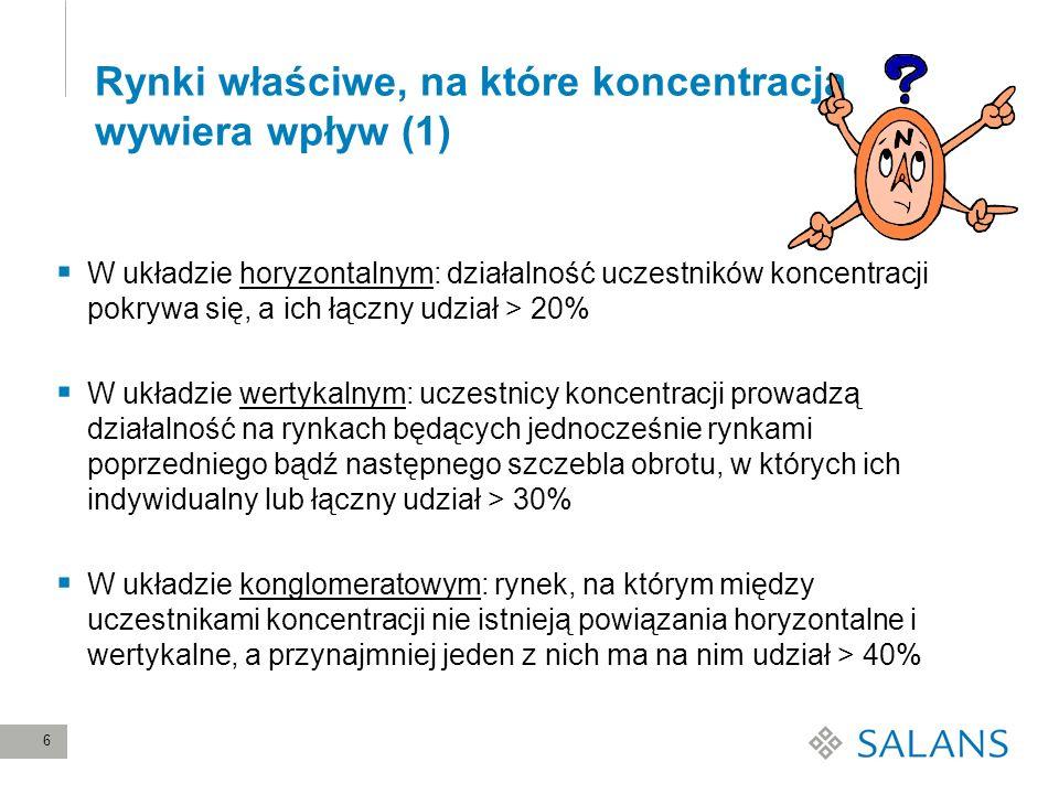 27 Ocena skutków koncentracji przez UOKiK (4) Krajowy rynek zakupu książek niespecjalistycznych (2) Wzmocnienie pozycji na rynku sprzedaży synergia z pozycją na rynku zakupu Wydawcy i hurtownicy rozproszeni Niewielkie prawdopodobieństwo wejścia nowego konkurenta Autorzy domagają się obecności w Empiku