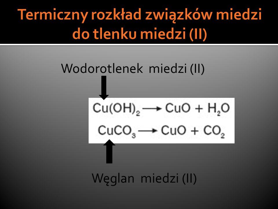 Wodorotlenek miedzi (II) Węglan miedzi (II)