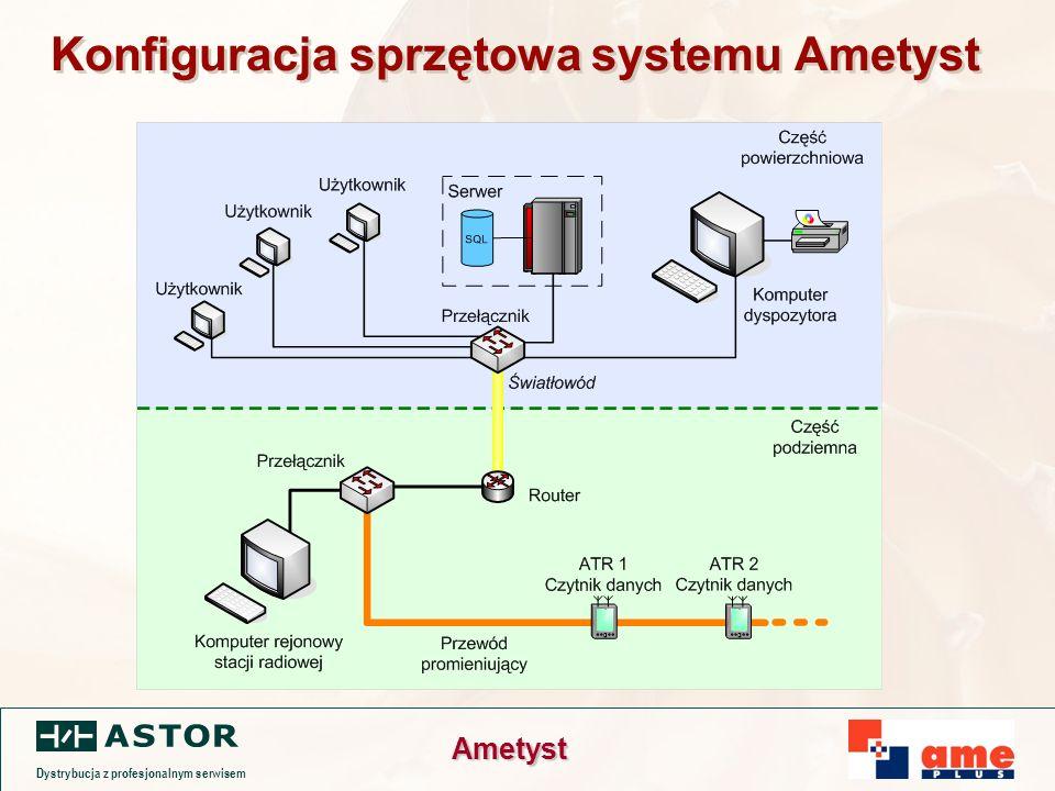 Dystrybucja z profesjonalnym serwisem Ametyst Konfiguracja sprzętowa systemu Ametyst