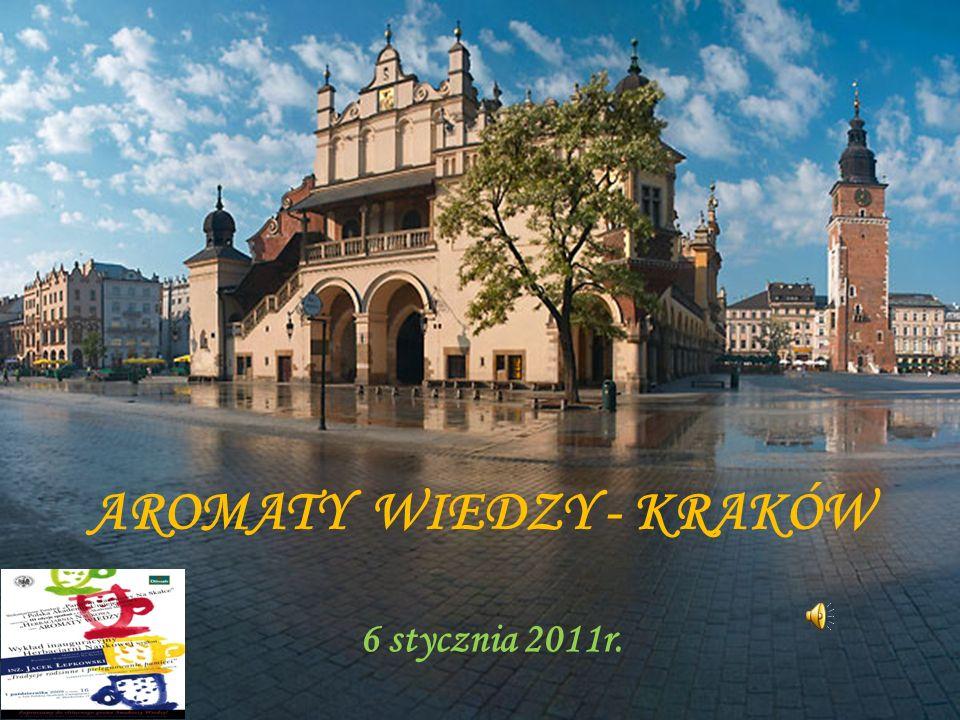 Dnia 6 stycznia 2011 roku uczniowie Naszego gimnazjum udali się do Krakowa na wykład z cyklu Aromaty Wiedzy.