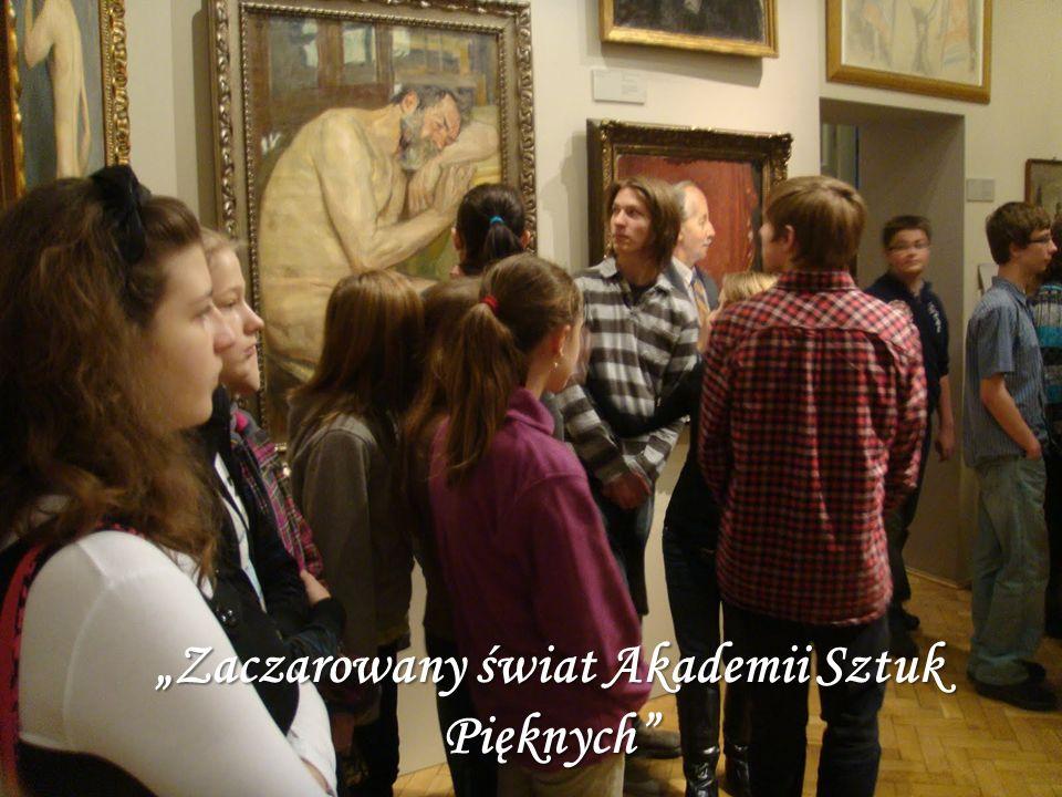Zaczarowany świat Akademii Sztuk Pięknych